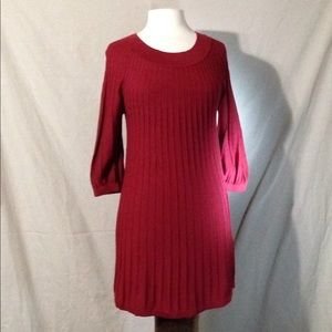 Leo & Nicole Ribbed Knit Stretch Tunic